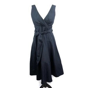 Max and Cleo Navy Formal Sleeveless Dress Size 6